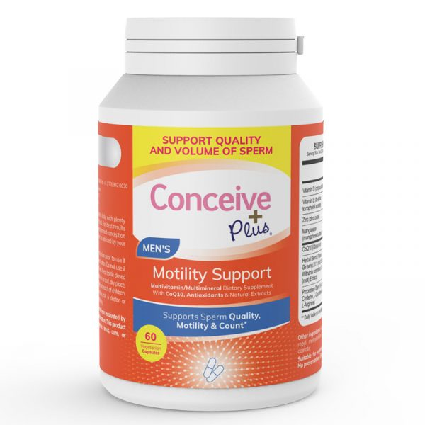 conceive plus sperm motility support volume increase count
